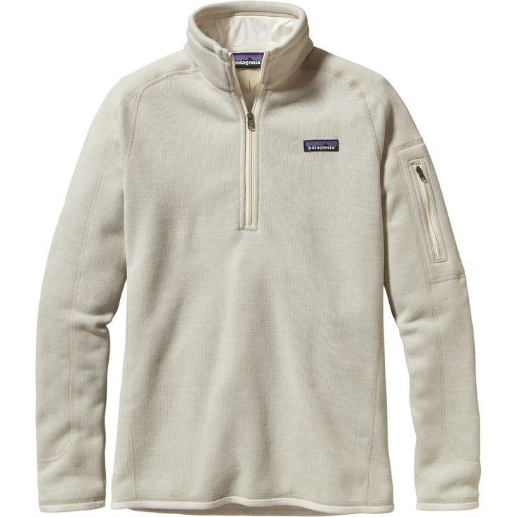 Patagonia - Better Sweater 1/4-Zip Fleece Jacket - Women's - Raw Linen