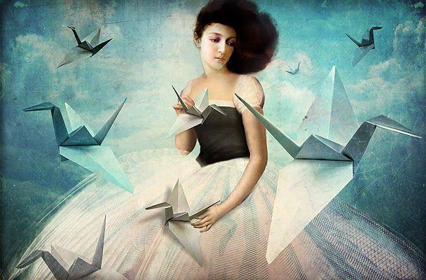 Catrin Welz-Stein: My first Origami Crane