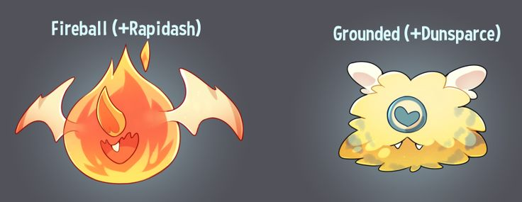 lizardbatdraws:  Some woobat variations! I just chose some pokemon from it's egg group.
