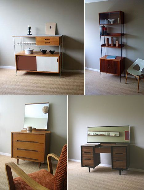 British Company Homespun Sells Carefully Curated 1950s Furniture Produced  By Local Designers, Mid Century