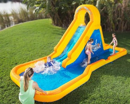 best selling inflatable water slide