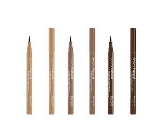 Bourjois Brow Natural Eyebrow FeltTip Pen 3 Options -- Click image for more details. (This is an affiliate link and I receive a commission for the sales)