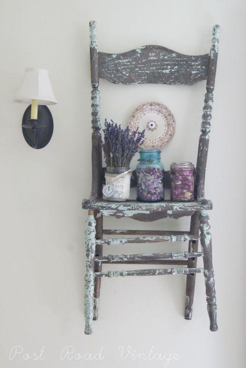 Oltre 1000 idee su vecchie sedie su pinterest panca for Bricocenter mensole