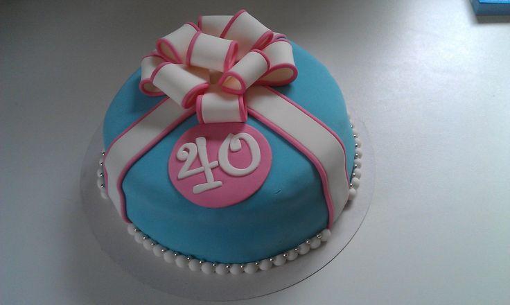 A little 40th-birthdaycake