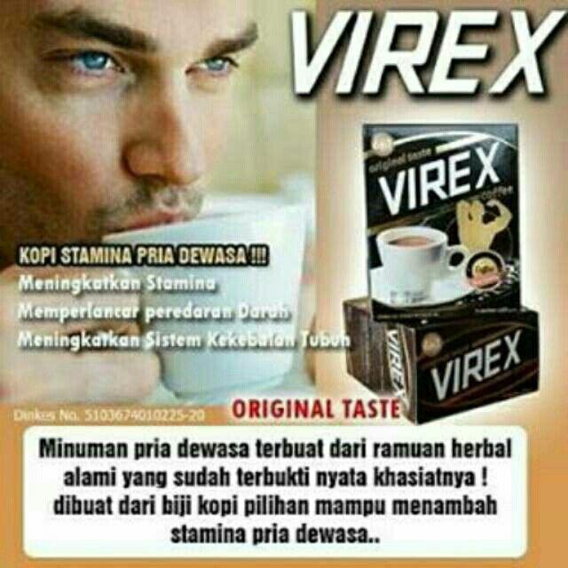 Saya menjual Kopi Virex (Kopi Stamina) seharga Rp145.000. Ayo beli di Shopee! https://shopee.co.id/cosmetic_hq/45405031