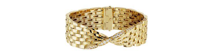 Le bracelet  Maillon Panthère  de Cartier