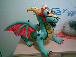 2000 Free Amigurumi Patterns: Krambambuli dragon amigurumi