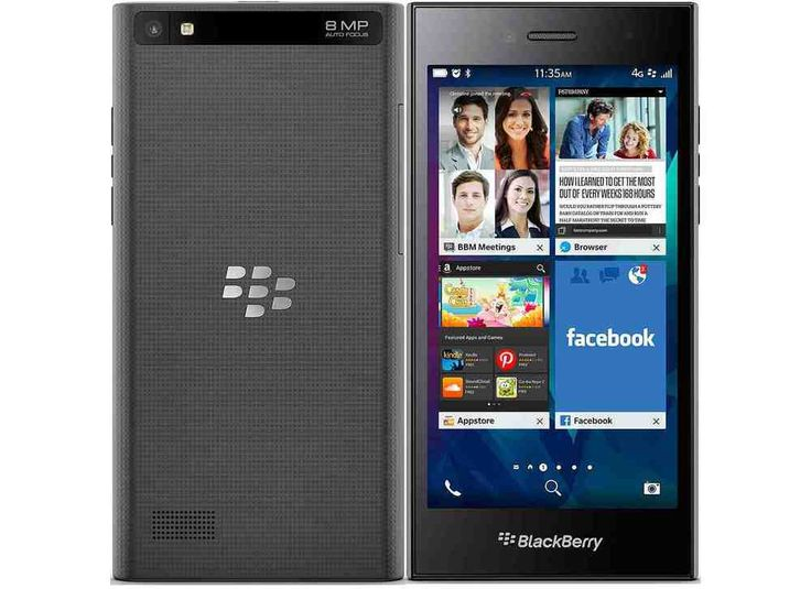 Excellent Condition BlackBerry Leap - 16GB - Shadow Grey (Unlocked) - 8AGT #BlackBerry #Bar