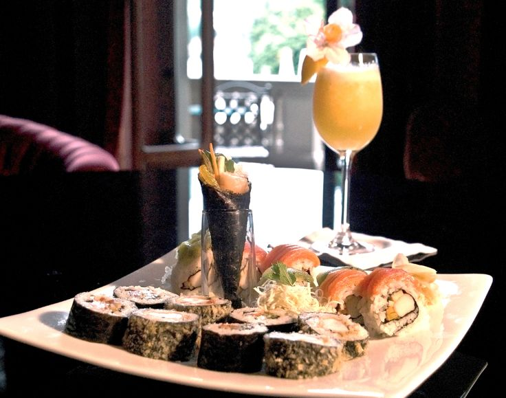Long, refreshing and exotic … This is how we love to welcome our Guests at #Bar #Bellini. Superb cocktails, exquisite canapé, fresh and tasty snacks and finger food.   #Aperitif #withaview  #trendy #fashionable   #lifestyle #japanese #food #sushi #sashimi #signature #cocktail