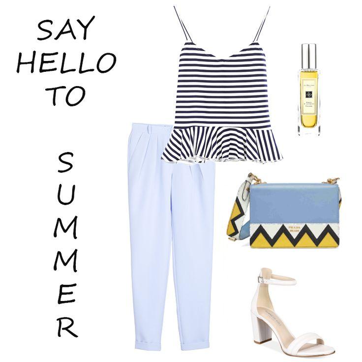 Листай👉🏼 Наши стилисты подготовили для тебя два летних образа с топом-тельняшкой🌊 Голубые брюки + каблук = для стильных дней и вечеров. Мятная юбка + эспадрильи = для путешествий и отдыха🙌🏼  Выбирай своих спутников на это лето! Все в наличии:  Топ - 699 грн;  Юбка - 899 грн;  Брюки - 1099 грн.  #summer2017 #styleguide #mintskirt #bluetrousers #stripedtop