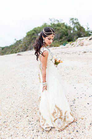 28 best Fusion wedding dresses images on Pinterest | Indian ...