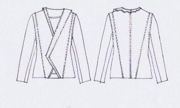 MERAKI Project Iceland // FW2015 // Aurora Borealis (jacket)