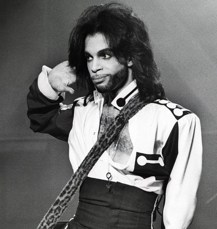 PRINCE HAIR THROUGH THE YEARS