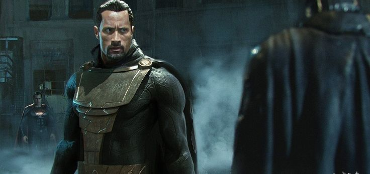 Black Adam concept art - A concept art that is not mine for the upcoming Shazam movie.