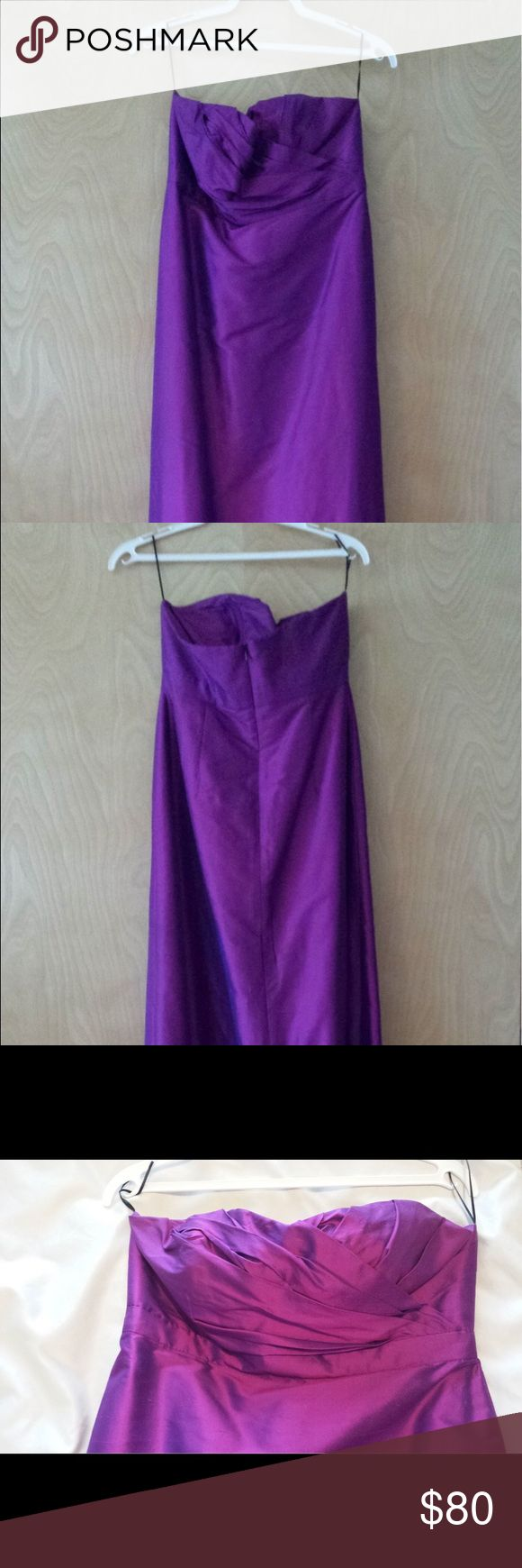 Purple bridesmaids dress and/or evening gown Worn once for a wedding (bridesmaid dress). Floor length and great condition! Brand is Lulakate! Dresses Strapless