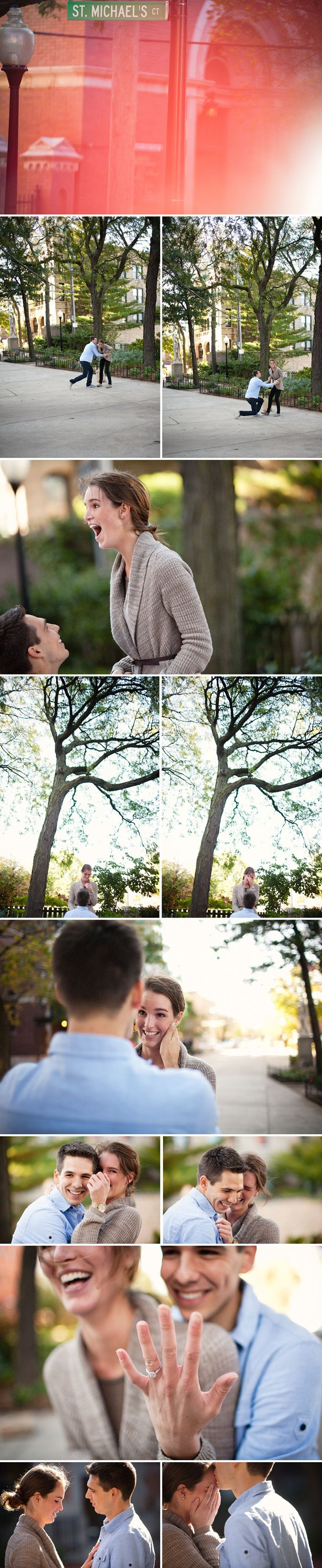 Reasons to hire a photographer for the proposal.... how sweet