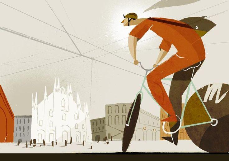 Rapha Illustration Contest Winner - Riccardo Guasco