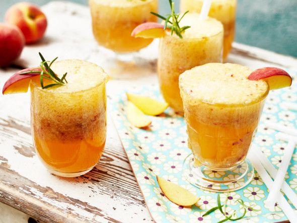 Peach-Summer-Fizz Rezept