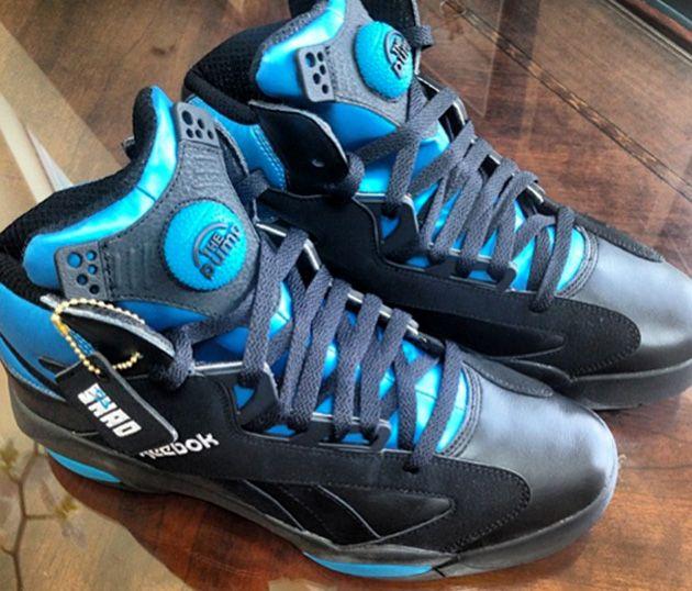 Reebok Shaq Attaq – Black / Azure | Sneakers.fr
