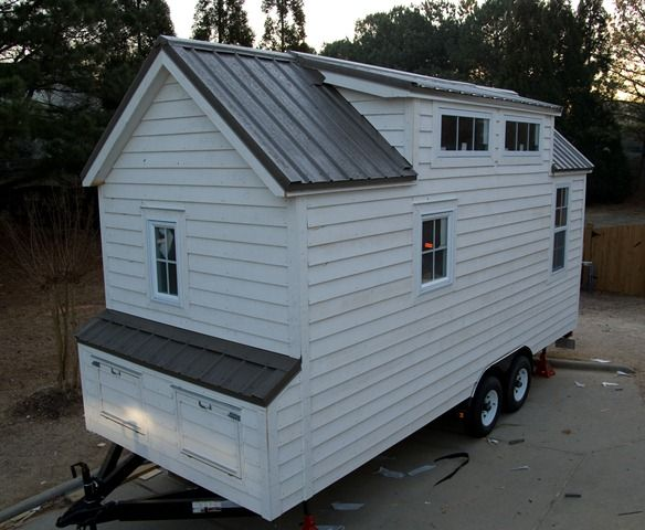 208 best Tiny Trailer Homes images on Pinterest  Small houses house cabin and living