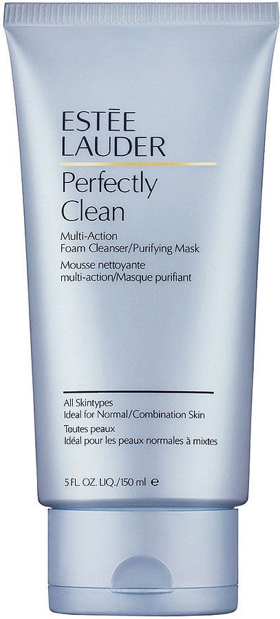Editor Favorite: Estée Lauder Perfectly Clean Foam Cleanser ($25) @Estee Lauder. İts easy to use and its helps a lot.