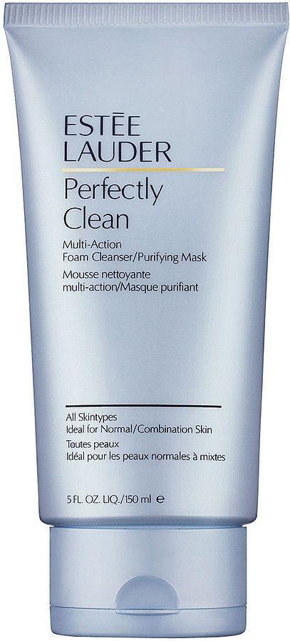 Editor Favorite: Estée Lauder Perfectly Clean Foam Cleanser ($25) @Estee Lauder