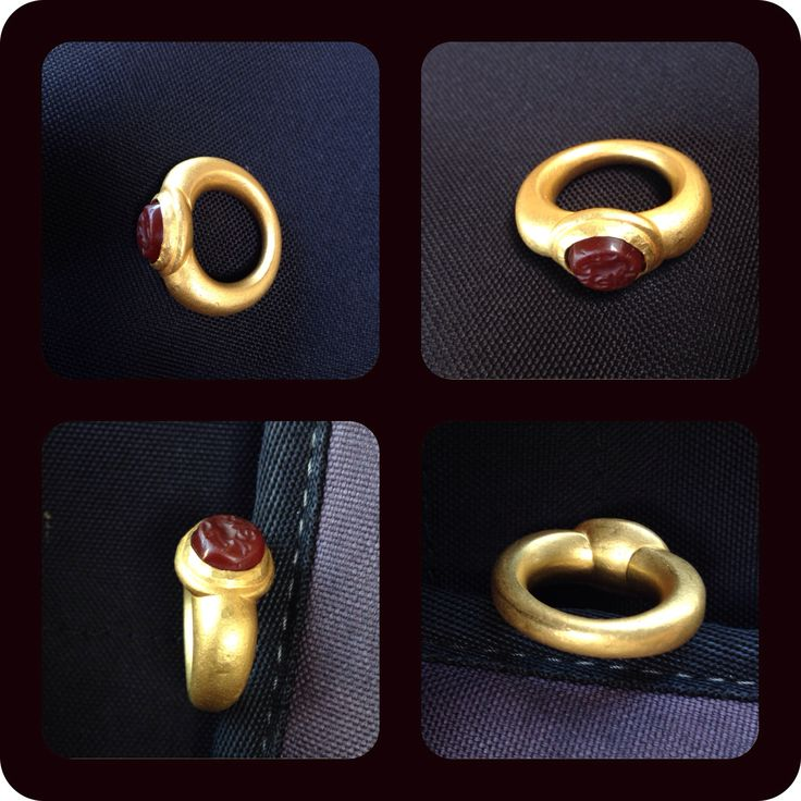 old ring gold from java (majapahit)