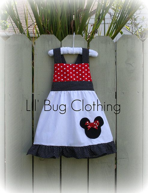 Custom Boutique Clothing Minnie Mouse Red and by LilBugsClothing, $42.00  who wants to buy it for me