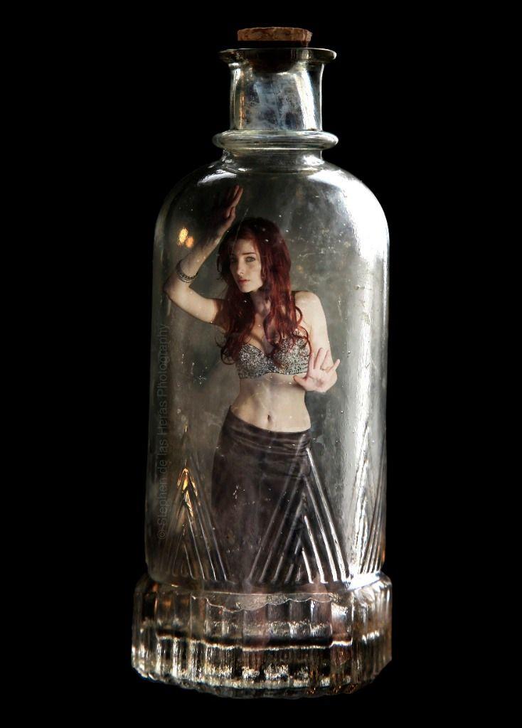 Girl genie trapped by xxx 3