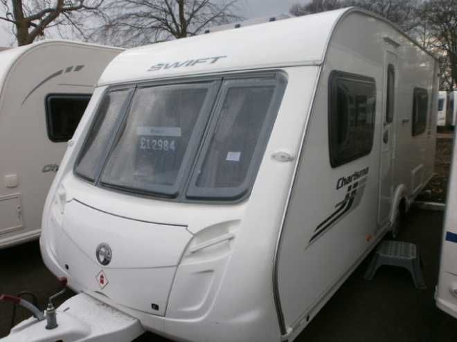 Swift Charisma 550 2011, 4 berth, (2011) Second Hand  Touring caravan for sale in Tyne