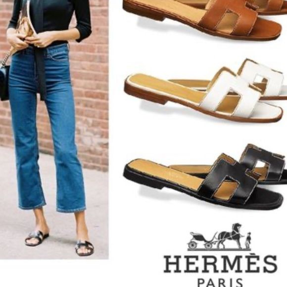 HERMES ORAN SANDALS Used a few times 100 Authentic Poshmark