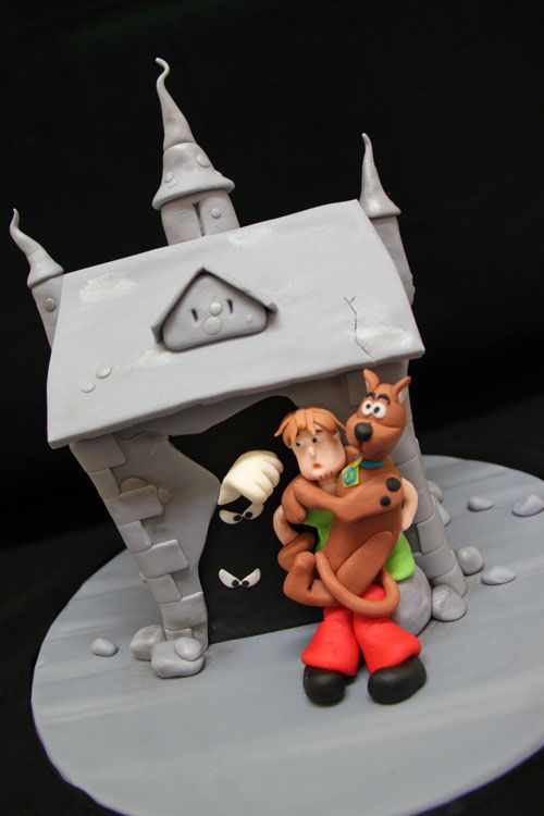 Torta di Halloween con Scooby Doo