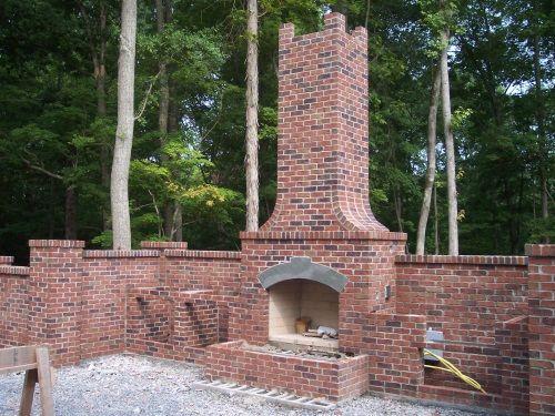 Fireplace Shape Minus The Turret Styled Chimney Mbw