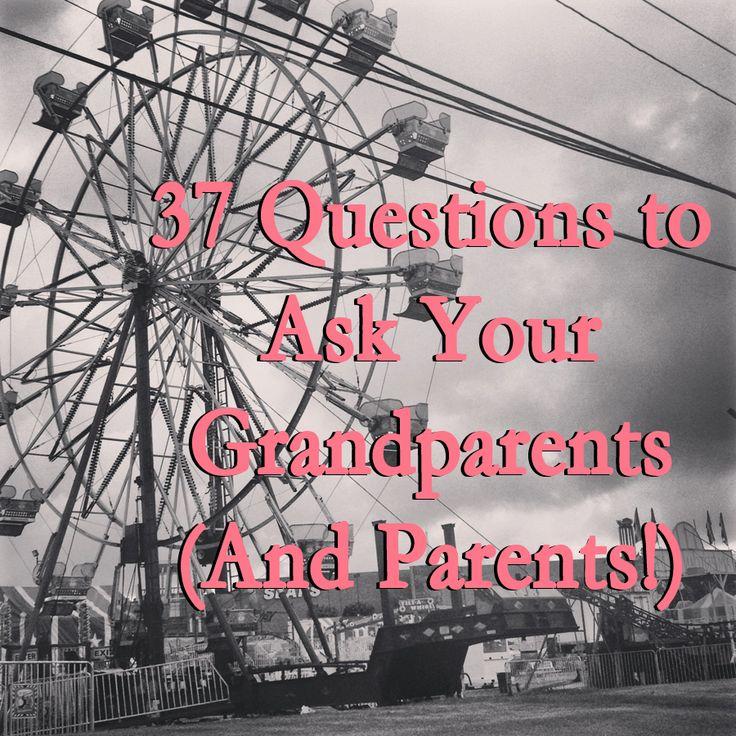 37 questions to ask grandparents jen darling 37 Questions to Ask Your Grandparents (And Parents!)
