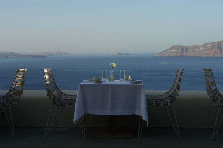 Dining with awesome view