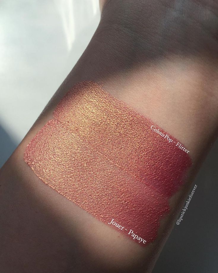 ColourPop Cosmetics Flitter is a dupe of Jouer Cosmetics Papaye #dupe