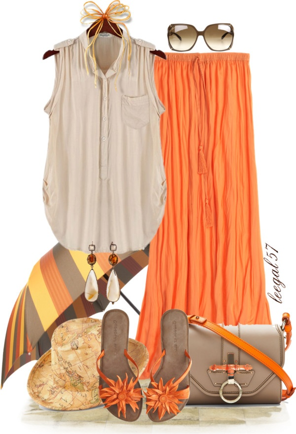 """Maxi Fun in the Sun"" by leegal57 on Polyvore"