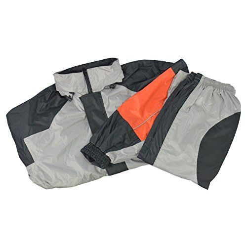 Two Piece RS5000 Motorcycle Rain Gear 2XL For Sale https://motorcyclejacketsusa.info/two-piece-rs5000-motorcycle-rain-gear-2xl-for-sale/