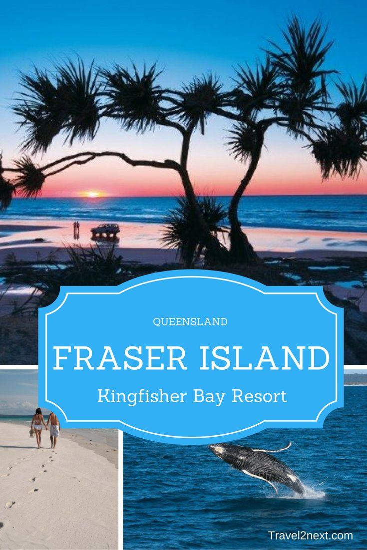 Kingfisher Bay Resort, Fraser Island. I am on a sand island. The biggest sand island in the world, to be exact.