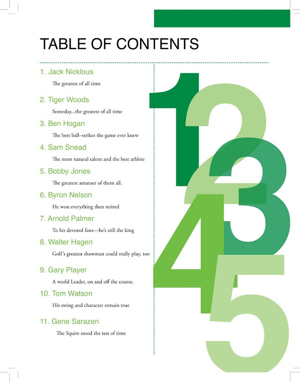 38 best table of contents images on pinterest page for Table layout design