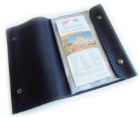 "Zut Design » This unique and sleek document holder is made from #recycled rubber. Can be used to store your travel maps, personal documents such as birth certificates, marriage license and more. A real conversation starter.  Sturdy, waterproof and will last forever.   Made in: Quebec, #Canada Measurements: 10 "" x 6.5"" x .5"" (26 cm x 17 cm x 1.5 cm) Collection: Accessories http://eco-handbags.ca/catalog/product_info.php?manufacturers_id=70&products_id=1881?ref=208"