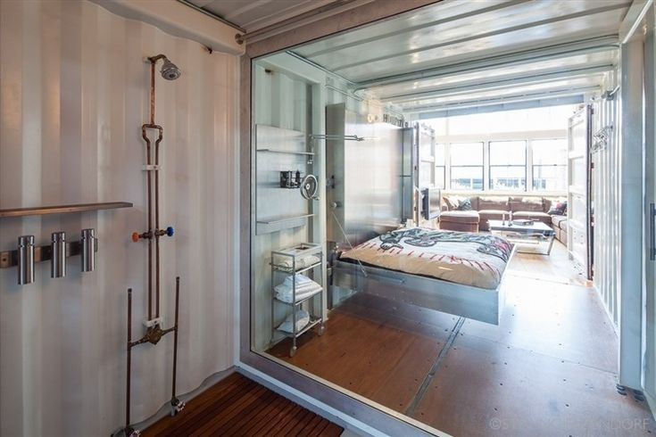 cool container/loft house.san francisco loft by wardell sagan, Innenarchitektur ideen