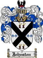 Johnston Coat of Arms / Johnston Family Crest Irish/Scottish/English (dad's side)
