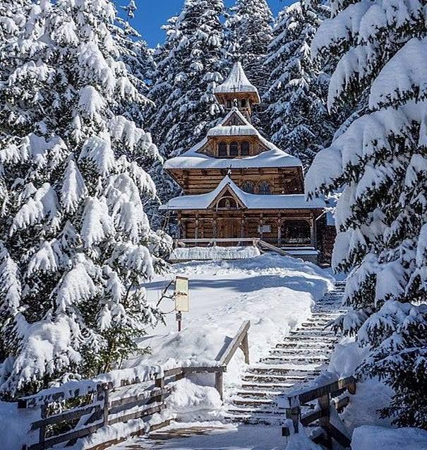 Wooden church, Zakopane, Poland