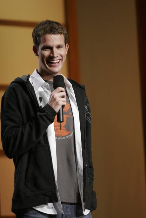 Daniel Tosh. Freaking funny and cute