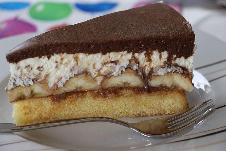 Geheime Rezepte: Schokoladen - Bananen Torte