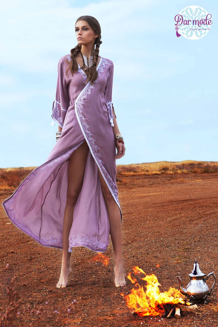 Kimono Loubna・Out of Africa lookbook