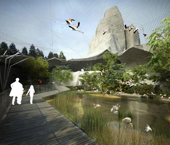 Pose de la première pierre pour la rénovation du Zoo de Vincennes