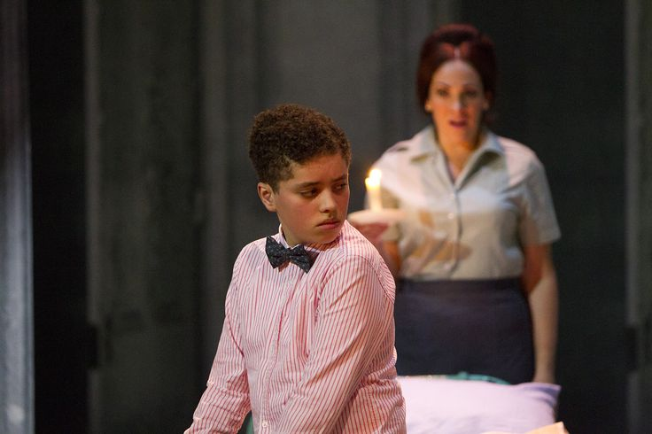 The Turn of the Screw - Joseph Zubier (Miles), Fiona Murphy (The Governess) - #TurnOfTheScrew