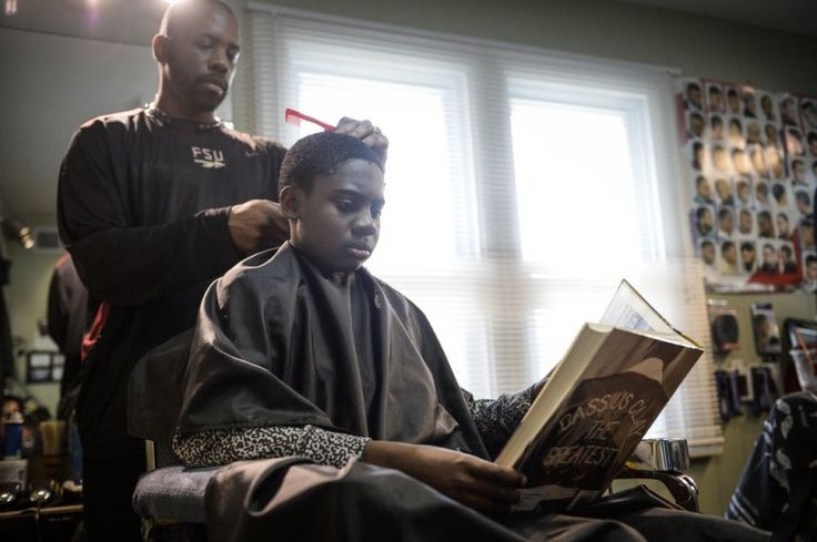 Haircut place in Ypsilanti - Kids who read this barber a book get a discount   MLive.com